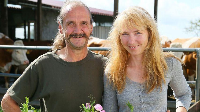 """Gottfried und Martina, """"Bauer sucht Frau""""-Paar"""