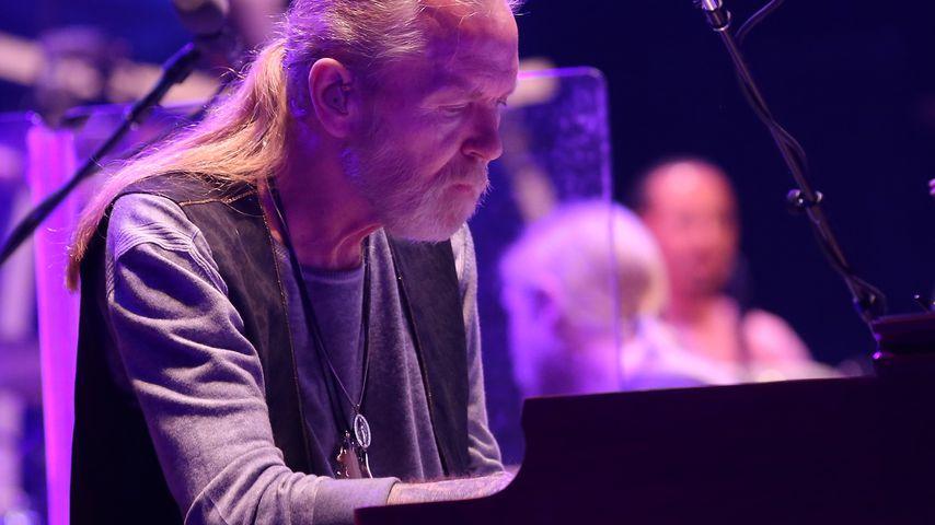 Gregg Allman bei einem Konzert seiner Band The Allman Brothers Band