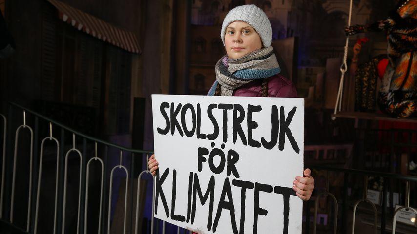 Greta Thunberg Wachsfigur