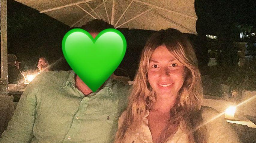Gülcan Kamps mit ihrem Mann