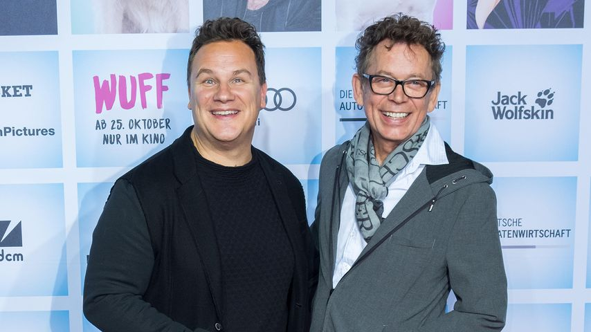 Guido Maria Kretschmer und Frank Mutters im Oktober 2018 in Berlin