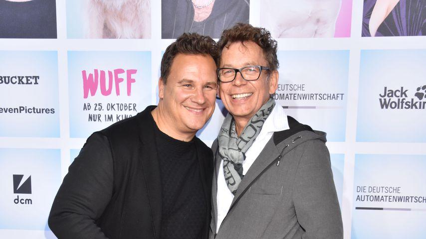 Modedesigner Guido Maria Kretschmer und sein Mann Frank Mutters