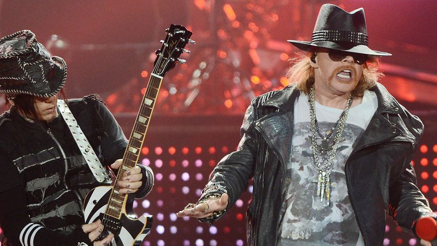 Guns N' Roses: Mysteriöse Hinweise für Bühnen-Comeback 2016?