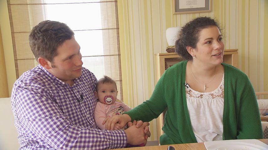 """Guy und Victoria mit Töchterchen Charlotte bei """"Bauer sucht Frau"""""""