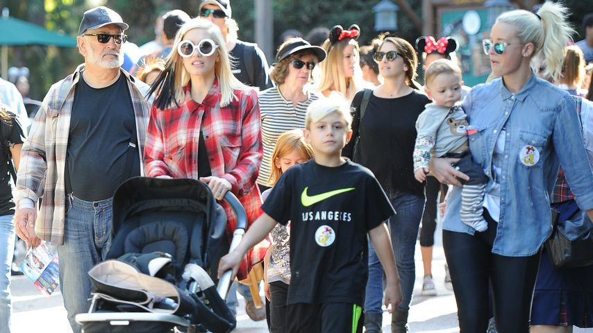 Gwen Stefani, Kingston Rossdale, Mindy Mann
