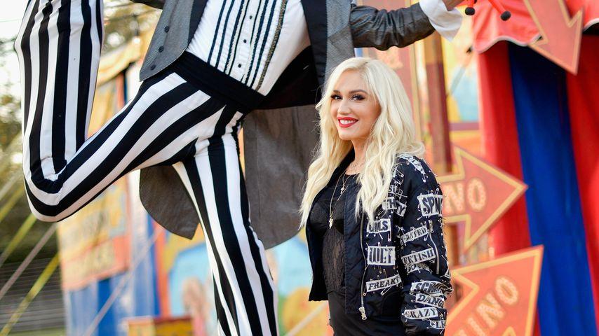 Gwen Stefani bei der Moschino-Fashionshow in Los Angeles