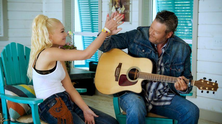 Gwen Stefani und Blake Shelton im Oktober 2020