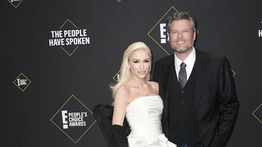 Gwen Stefani und Blake Shelton bei den E! People's Choice Awards 2019