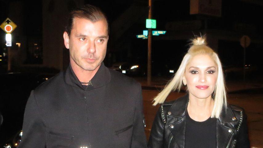 Gwen Stefani & Gavin: Sexy Style-Couple in Schwarz