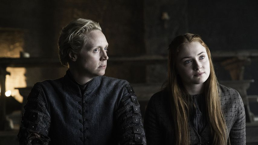 "Gwendoline Christie und Sophie Turner in ""Game of Thrones"", Staffel 6"