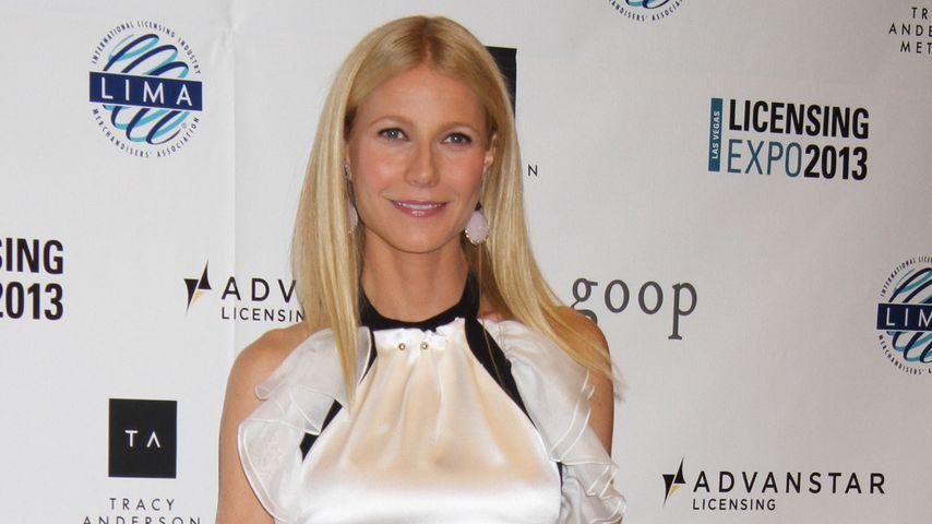 Style-Flop! Gwyneth Paltrow im Rüschen-Hemd