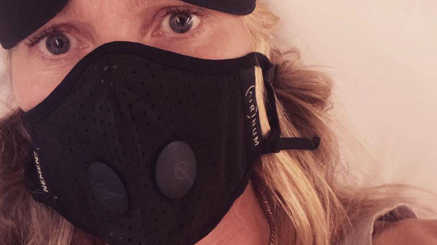 Angst vor Coronavirus? Gwyneth Paltrow trägt Mundschutz