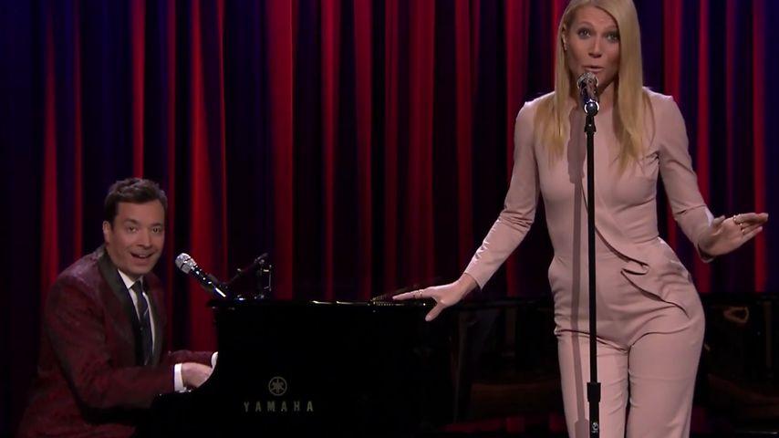 Gwyneth Paltrow und Jimmy Fallon