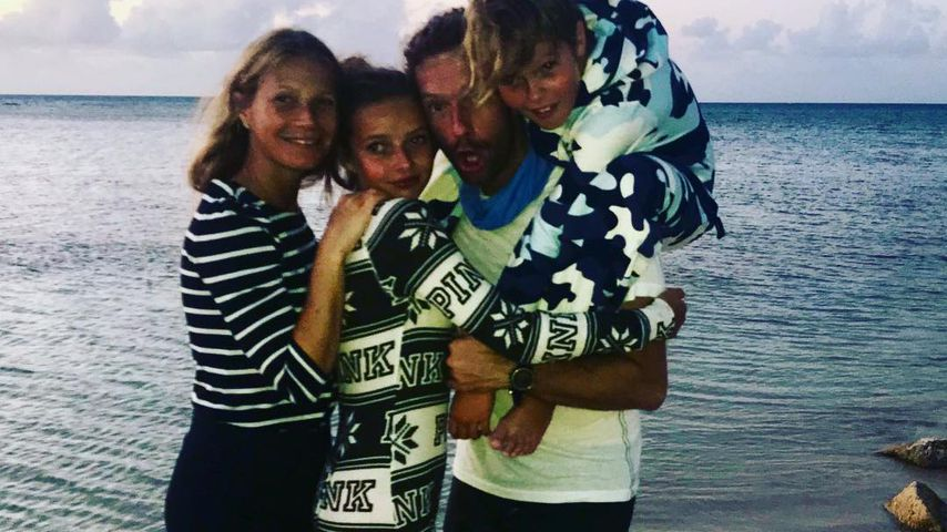 Zu Chris' Bday: Gwyneth Paltrow dankt Ex-Mann mit Family-Pic