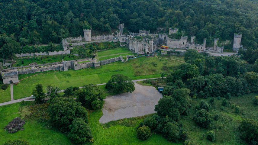 Gwrych Castle in Abergele, Wales
