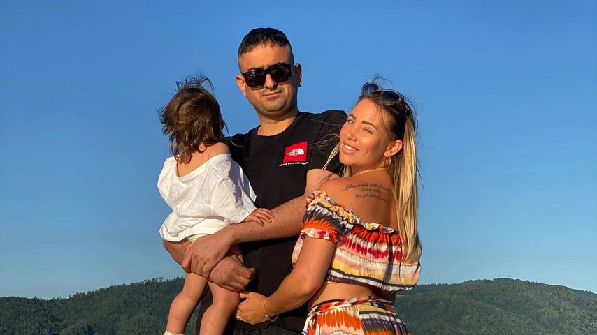 Haftbefehl mit seiner Frau Nina und der gemeinsamen Tochter