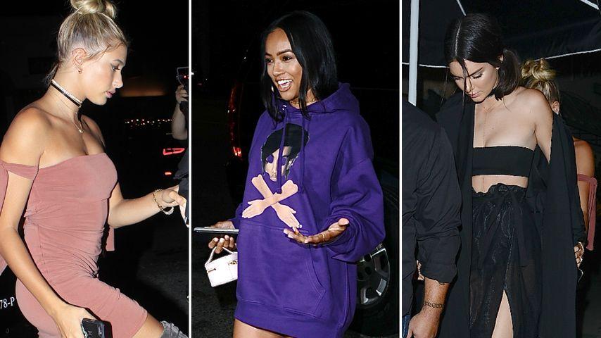 Dresscode Overknees? So heiß sahen Kylie Jenners Gäste aus!