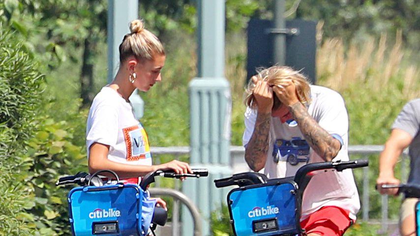 Wegen Schwangerschaft? Hailey & Justin bei Date verzweifelt!