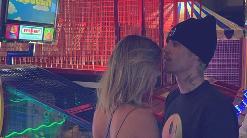 In Spielhalle: Hailey und Justin Bieber genießen Date-Day