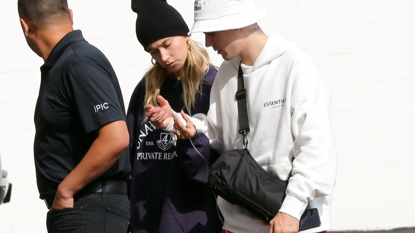 Hailey und Justin Bieber in Los Angeles