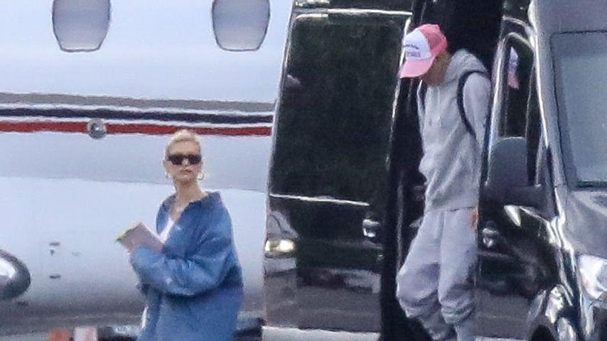 Hailey und Justin Bieber im September 2019
