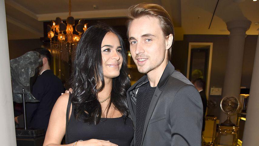 Haleh Esbak und Constantin von Jascheroff bei der Berlin Fashion Week