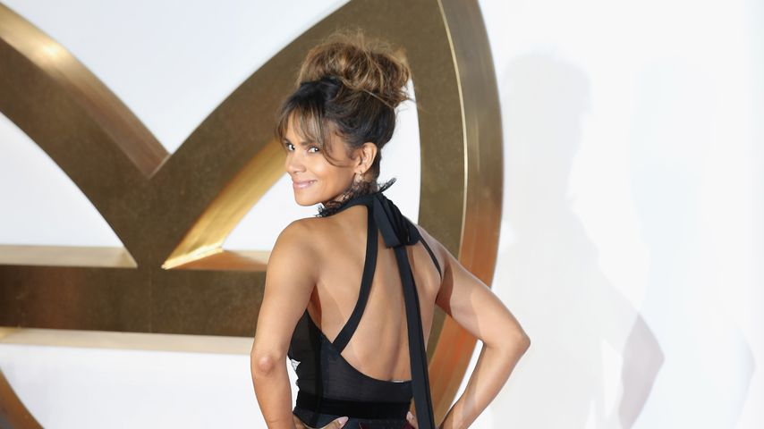 "Halle Berry auf der ""Kingsman""-Premiere in London 2017"
