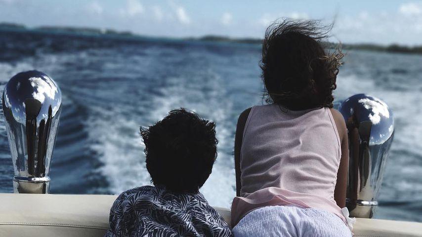 Halle Berrys Kinder Maceo und Nahla im Bora-Bora-Urlaub, 2018