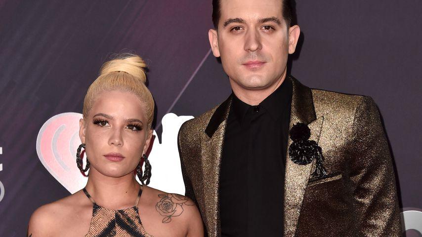 Halsey und G-Eazy bei den HeartRadio Music Awards 2018