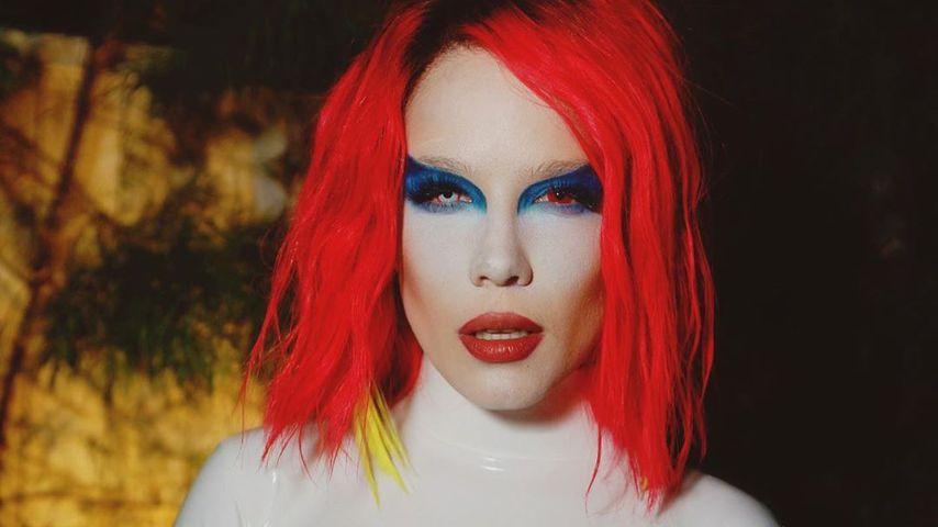 Halsey verkleidet als Marilyn Manson, Oktober 2019