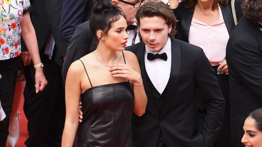 Hana Cross und Brooklyn Beckham in Cannes