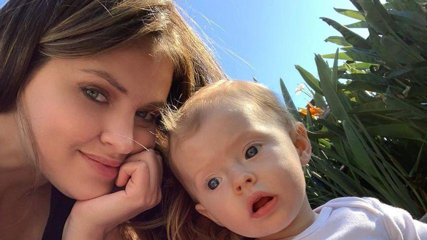 Hana Nitsche und ihre Tochter Aliya Frances im Mai 2019 in Kalifornien
