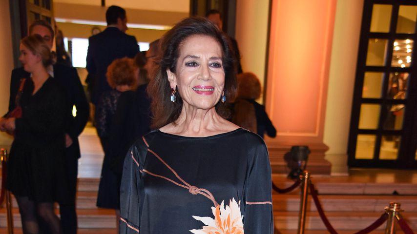 Hannelore Elsner bei der Verleihung des Hessischen Filmpreises im Oktober 2018