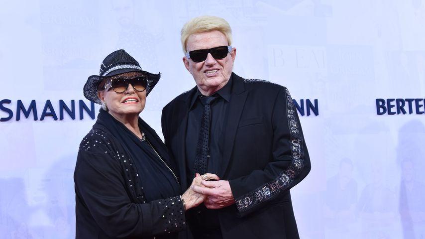 Hannelore Kramm und Heino bei der Bertelsmann Party 2019