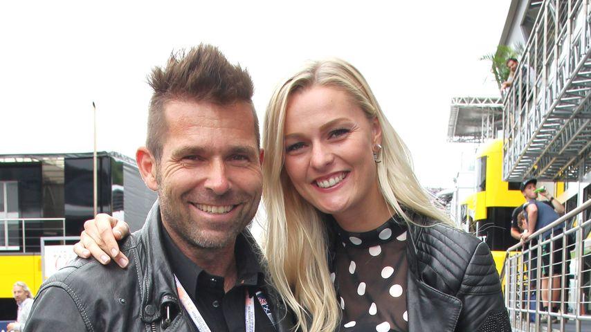 Hannes Arch und Miriam Höller beim Formel 1 Grand Prix in Österreich