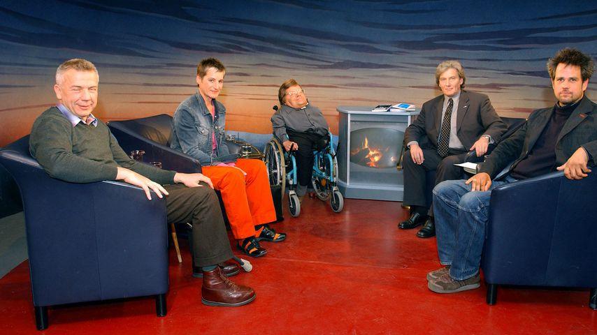 Hannes Böhringen, Helga Peskoller, Peter Radtke, Volker Panzer und Christoph Schlingensief