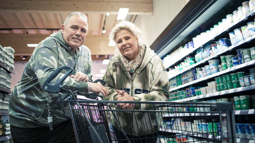 "Harald Elsenbast und Silvia Wollny in ""Das Supermarkt-Quiz"""