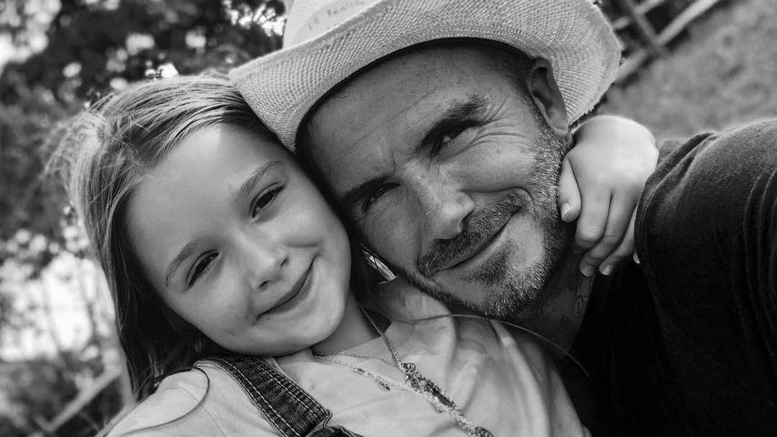 Harper Beckham wird sieben: Liebe Worte von Papa David