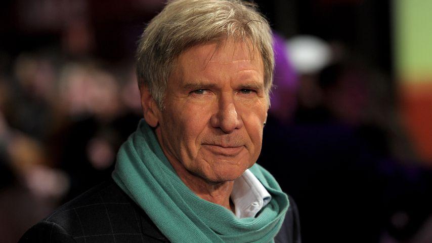 """Harrison Ford bei der """"Morning Glory""""-Premiere in London im Januar 2011"""
