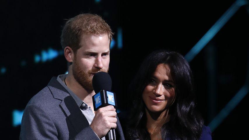 Prinz Harry und Herzogin Meghan beim WE Day UK 2019