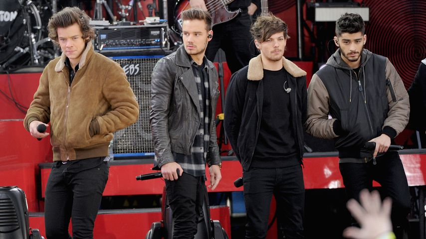 Harry Styles,Liam Payne, Louis Tomlinson und Zayn Malik im November 2013
