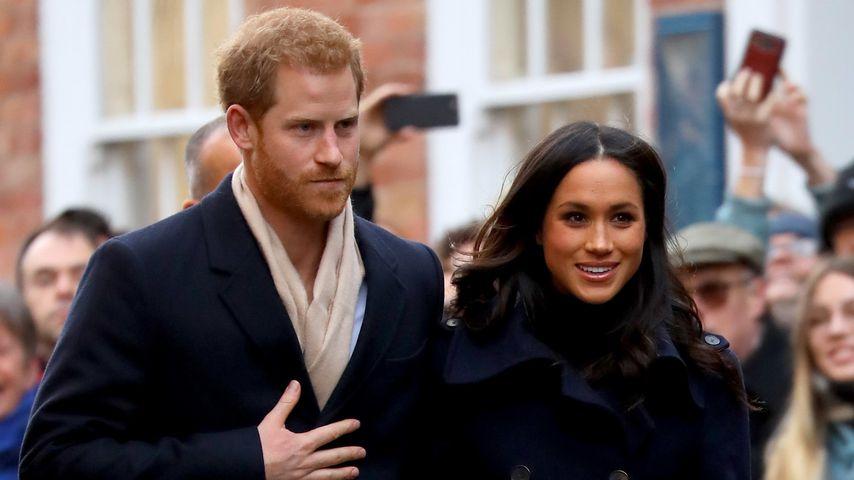 Prinz Harry und Meghan Markle in Nottingham