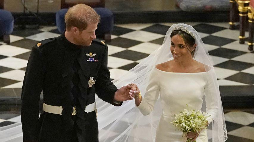 Prinz Harry und Herzogin Meghan bei ihrer Hochzeit