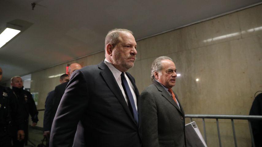 Harvey Weinstein und sein Anwalt