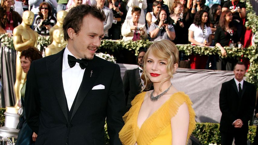 Heath Ledger und Michelle Williams bei 78th Annual Academy Awards 2005