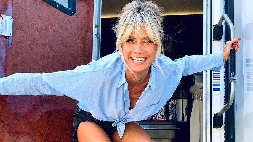 Topmodel Heidi Klum mit komplettem Typwechsel: Setzt sie jetzt einen neuen Trend?