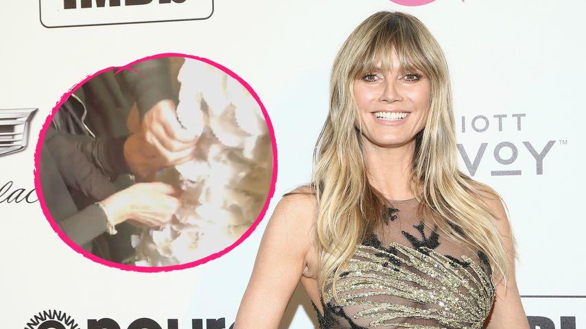 Kleid passt nicht: Spielt Heidi mit Schwanger-Gerücht?