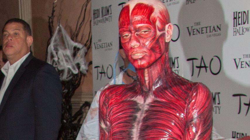 Heidi Klum auf ihrer Halloween-Party 2011