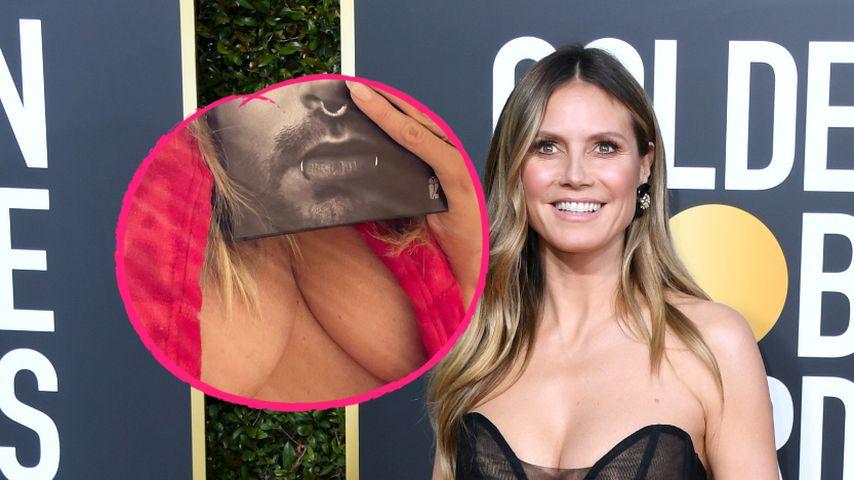 Kaulitz heidi nackt und bill klum Heidi Klum,
