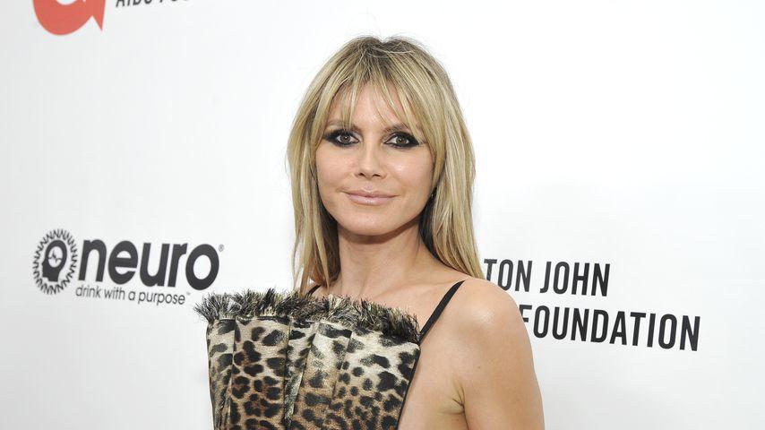 Heidi Klum bei Elton Johns Oscar-Party